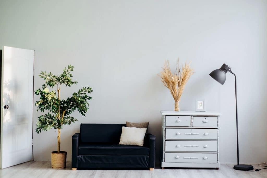 Beautiful minimalist interior design