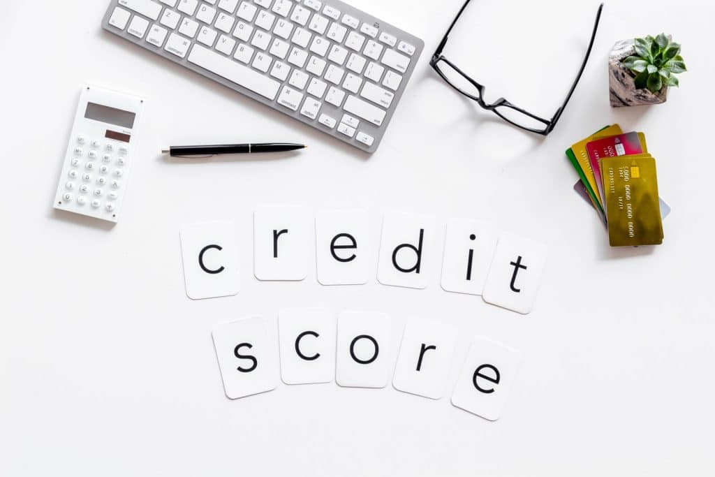 Credit Score in playing cards
