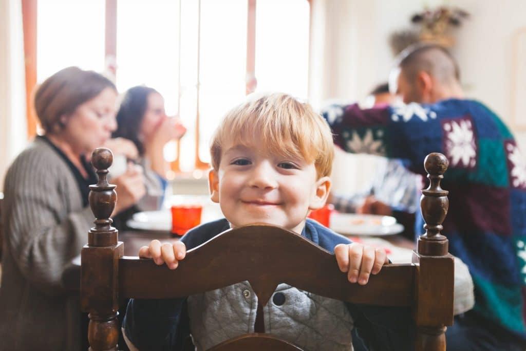 small boy  looking happy MAPIO Financial Insurance